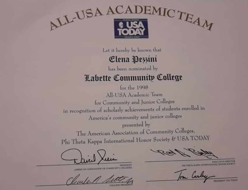 Elena-Pezzini-All-Usa-Academic